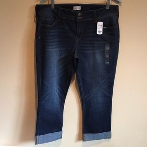 So Junior's Cropped Jeggings Size 17